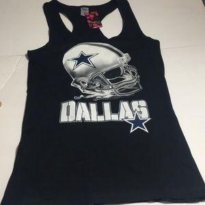 Dallas Cowboys Racer Back Tank Top